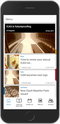 App news feed