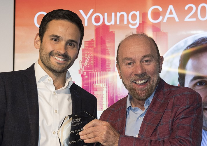 One Young CA 2017 Jonny Jacobs & ICAS President Sir Brian Souter CA