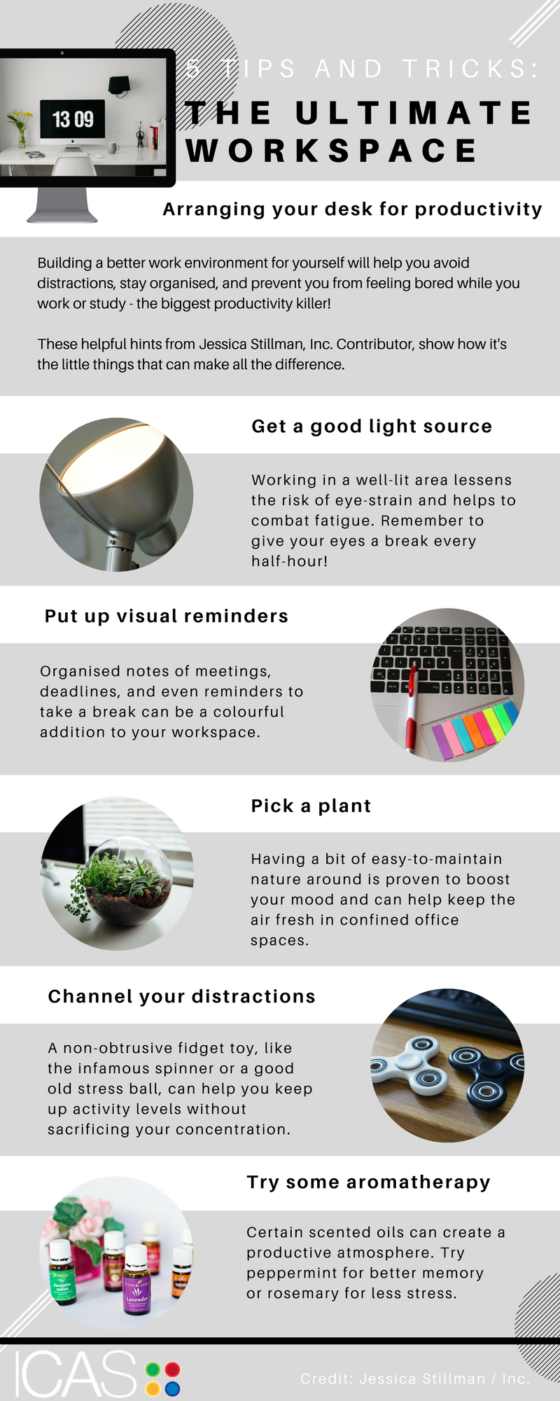 Infographic: The ultimate workspace