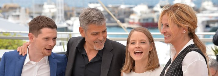 The cast of Money Monster in Cannes