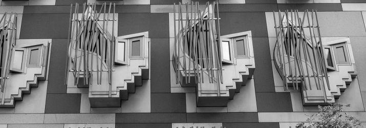 Scottish Parliament Windows