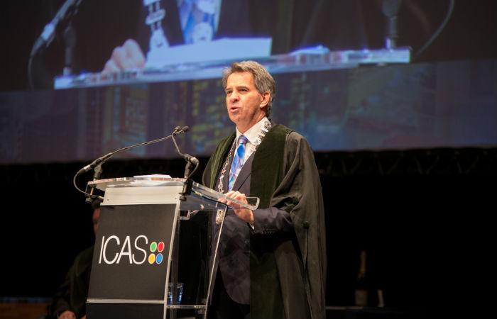 ICAS President Ken McHattie CA