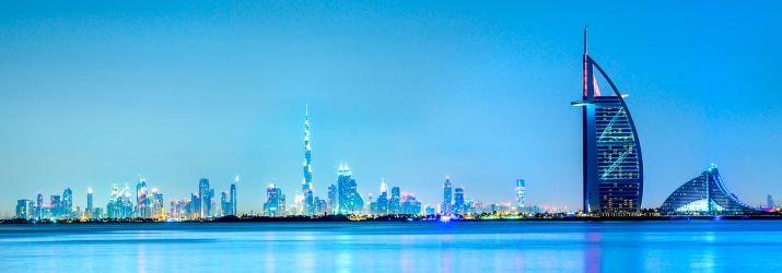 The UAE skyline