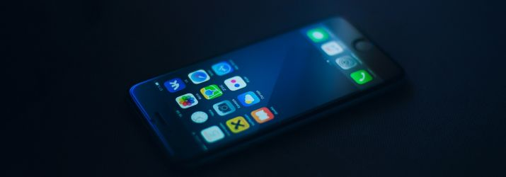 Photo of a mobile phone
