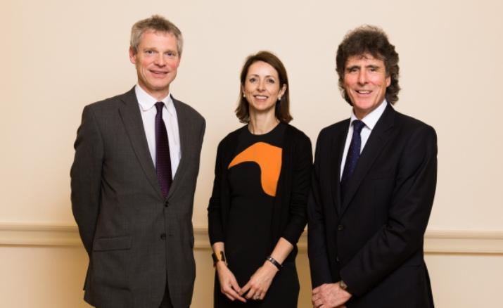 David Wood, Helena Morrissey and Jim Pettigrew